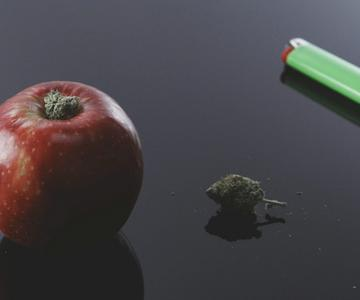 Cómo hacer una pipa de manzana casera para tu cannabis