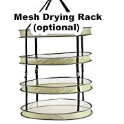 Drying racks are a convenient way to dry your cannabis with less worry about mold