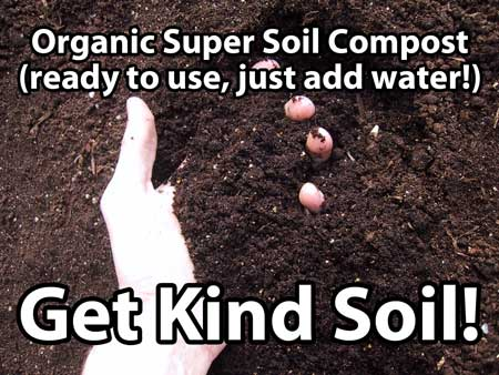 Get organic super soil compost - available online at Amazon.com!